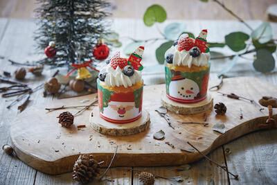 クリスマスのマフィン