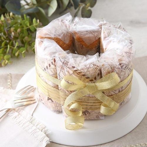 シフォンケーキのおすすめラッピング!可愛く魅せてワンランク上の仕上がりに♡