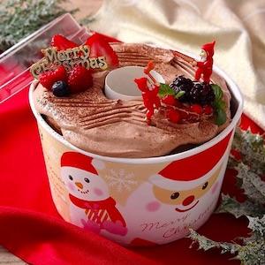 クリスマスシフォン~ブッシュ・ド・ノエル風
