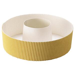 ショート シフォンカップ 15cm (黄色ベタ) 10枚入