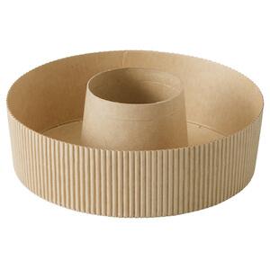 ショート シフォンカップ 15cm (クラフト) 10枚入