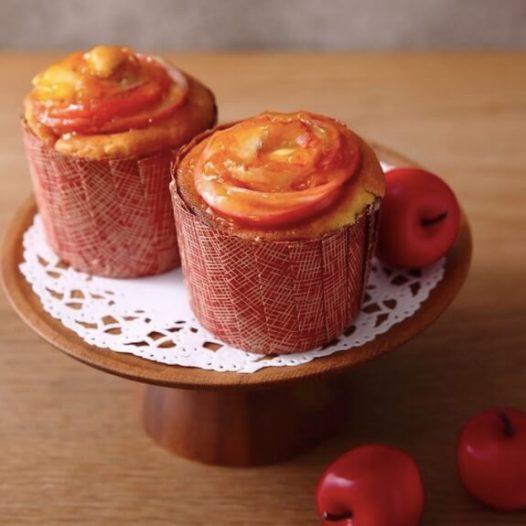 りんごマフィンのレシピ