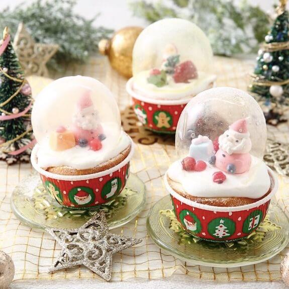 クリスマスゼラチンバブル