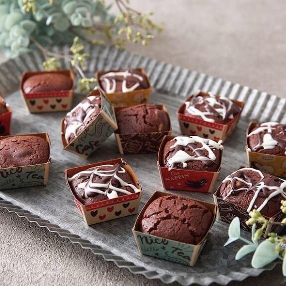 ホットケーキミックスで作るチョコブラウニー